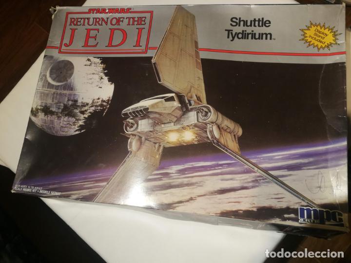 MAQUETA SHUTTLE TYDIRIUM STAR WARS DE MPC ERTL (Juguetes - Figuras de Acción - Star Wars)