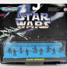 Figurines et Jouets Star Wars: MICROMACHINES 66080 PILOTOS IMPERIALES 19009037. Lote 194377456