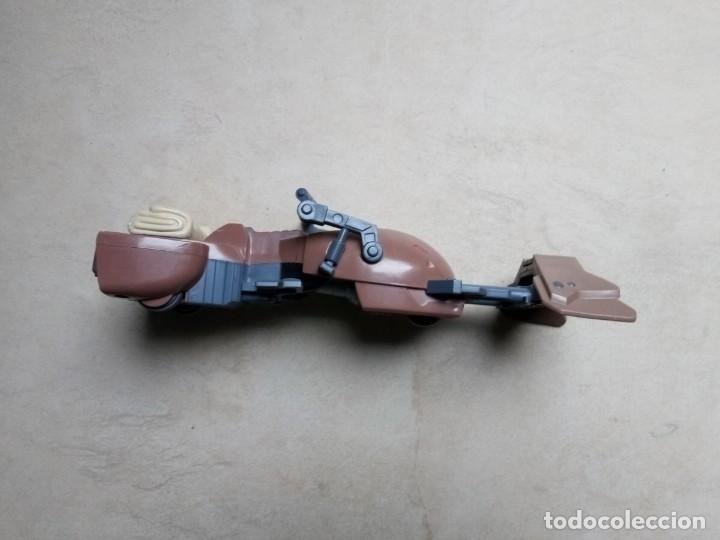 Figuras y Muñecos Star Wars: Moto Jet Speeder Hasbro 2011 19 cms - Foto 3 - 194407090