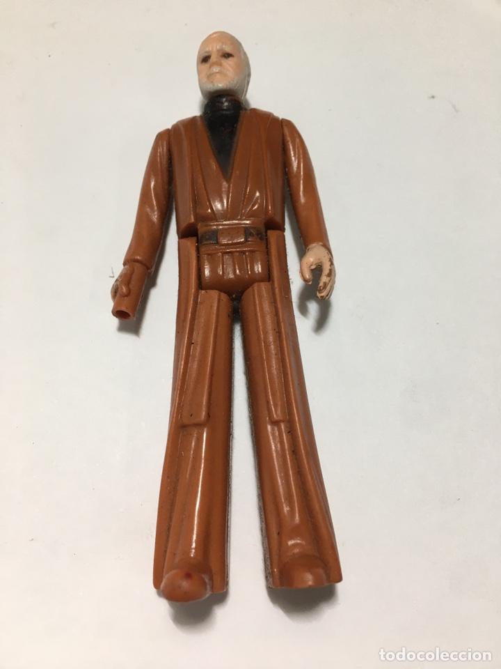 FIGURA STAR WARS OBI WAN KENOBI 1977 MADE IN HONG KONG (Juguetes - Figuras de Acción - Star Wars)