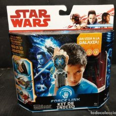 Figuras y Muñecos Star Wars: KIT DE INICIO FORCE LINK STAR WARS AÑO 2016. Lote 194527300