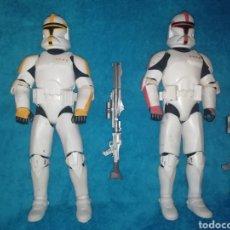 Figuras y Muñecos Star Wars: STAR WARS FIGURAS CLONE TROOPERS AOTC. Lote 194533965