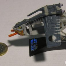 Figuras y Muñecos Star Wars: STAR WARS CLONE WARS REPUBLIC GUNSHIP TIGER SHARK TITANIUM MICROMACHINES. Lote 194584158