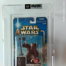 Figuras y Muñecos Star Wars: FIGURA HASBRO STAR WARS, OBI-WAN KENOBI - AFA U85 AÑO 2002 , AOTC- LEER DETALLE!!! - ERICTOYS. Lote 194618978