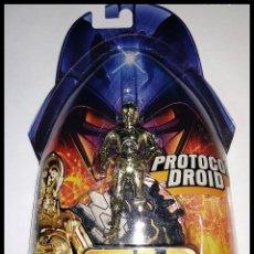 Figuras y Muñecos Star Wars: STAR WARS # C-3PO # REVENGE OF THE SITH - NUEVO EN SU BLISTER ORIGINAL DE HASBRO... Lote 194622480