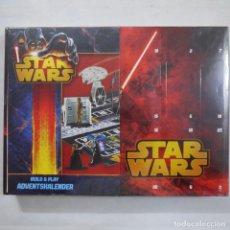 Figuras y Muñecos Star Wars: STAR WARS CALENDARIO DE ADVIENTO 2013 CON FIGURITAS - PRECINTADO . Lote 194624447