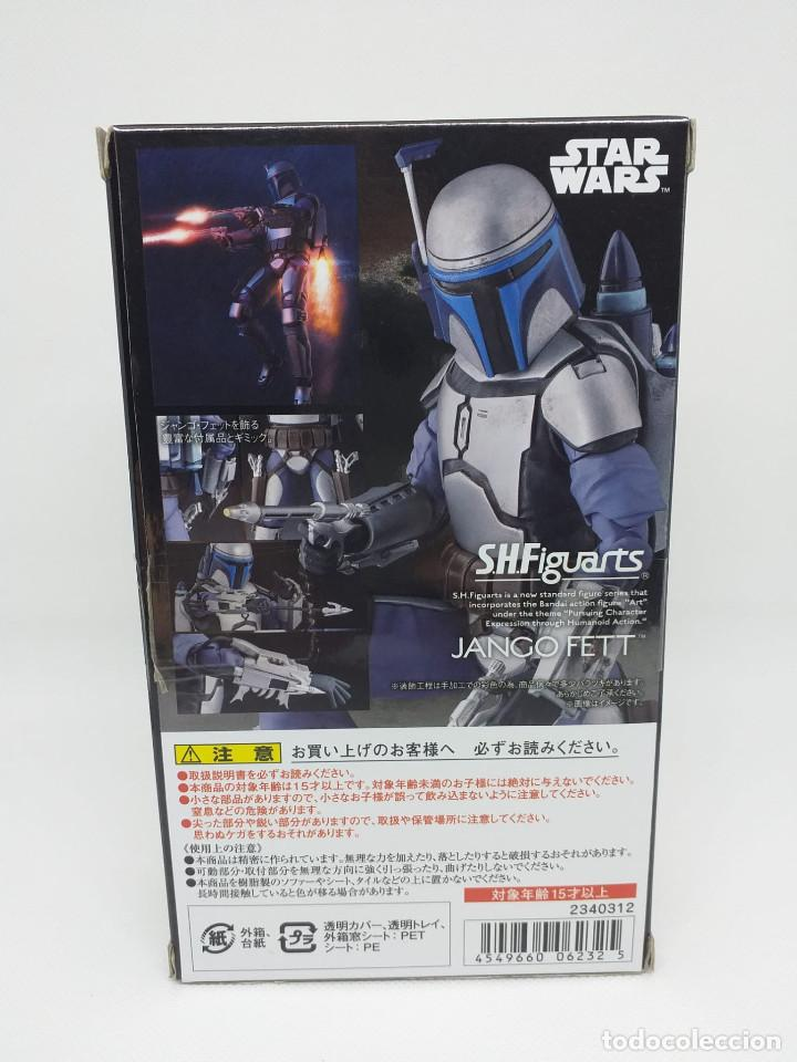 Figuras y Muñecos Star Wars: BANDAI - STAR WARS S.H.Figuarts - JANGO FETT - (original) Nuevo en caja cerrada. - Foto 6 - 194668062