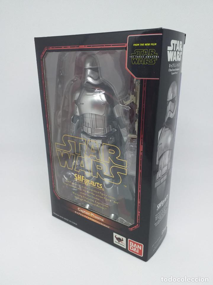 Figuras y Muñecos Star Wars: BANDAI - STAR WARS S.H.Figuarts - CAPTAIN PHASMA (The Force Awakens) - NUEVO - Foto 3 - 194668577