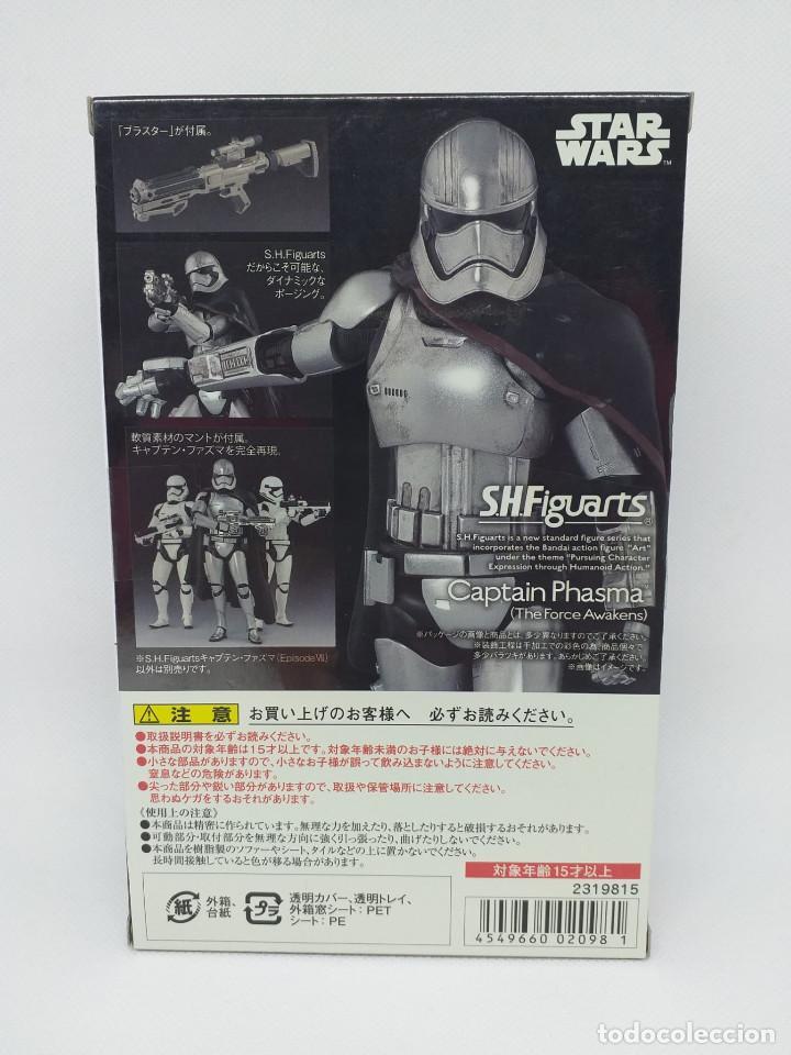Figuras y Muñecos Star Wars: BANDAI - STAR WARS S.H.Figuarts - CAPTAIN PHASMA (The Force Awakens) - NUEVO - Foto 4 - 194668577