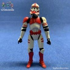 Figuras y Muñecos Star Wars: FIGURA SOLDADO DE CHOQUE IMPERIAL - STAR WARS - AÑO 2004 HASBRO. Lote 194709868