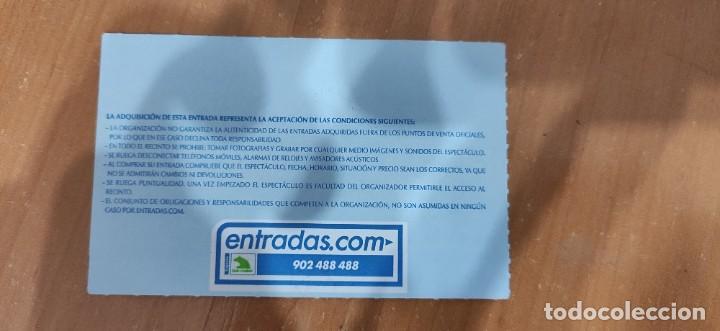 ENTRADA STAR WARS THE EXHIBITION MADRID 2009 (Juguetes - Figuras de Acción - Star Wars)