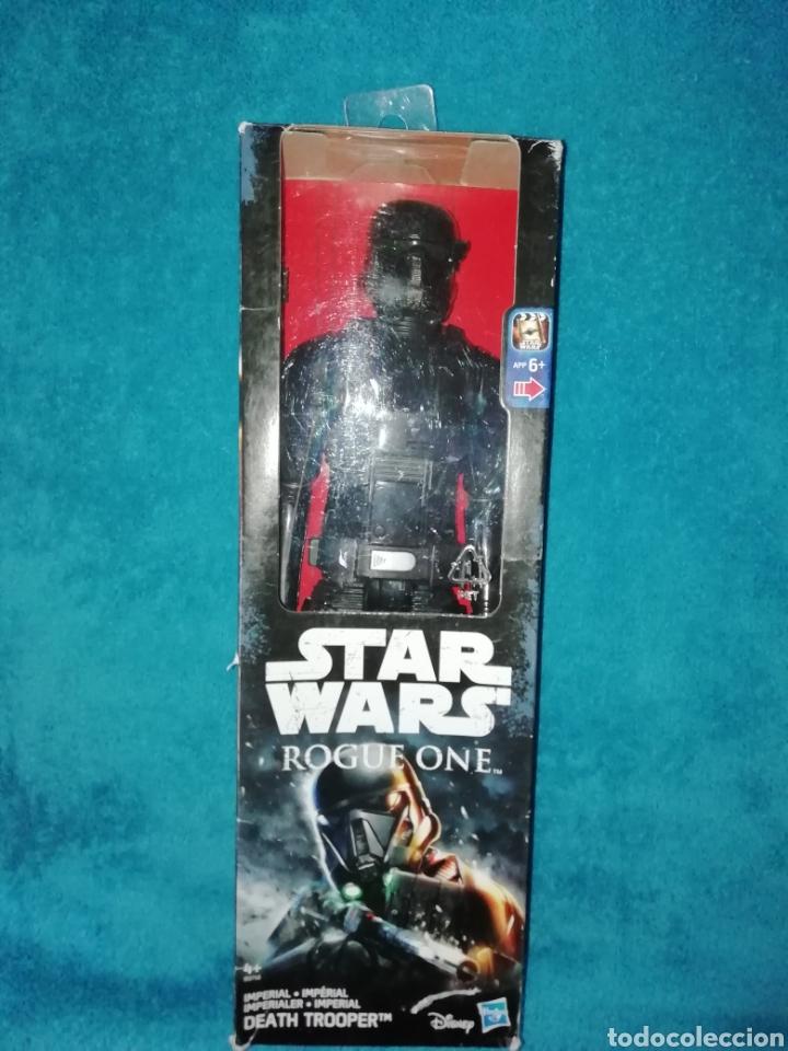 STAR WARS FIGURA DEATH TROOPER ROGUE ONE (Juguetes - Figuras de Acción - Star Wars)