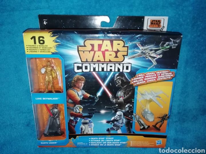 STAR WARS FIGURAS COMMANDO ATAQUE EN LA DEATH STAR (Juguetes - Figuras de Acción - Star Wars)