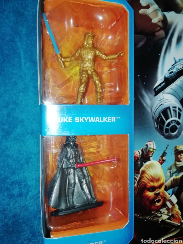 Figuras y Muñecos Star Wars: Star Wars figuras Millennium Falcon - Foto 2 - 194899977