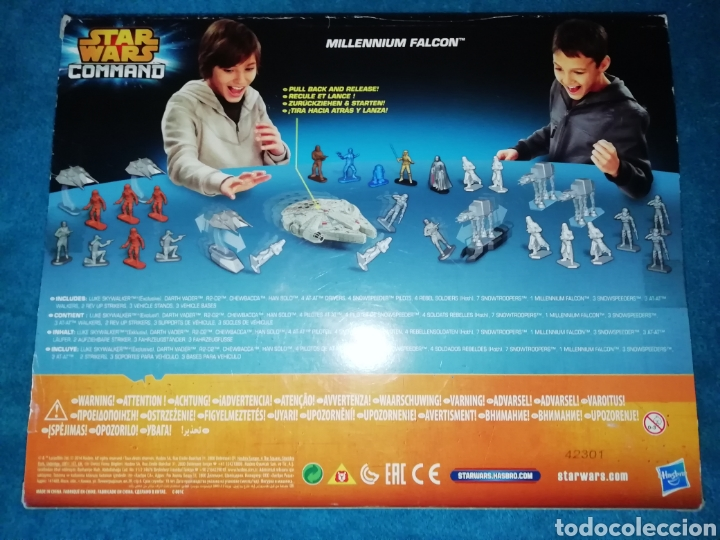 Figuras y Muñecos Star Wars: Star Wars figuras Millennium Falcon - Foto 3 - 194899977