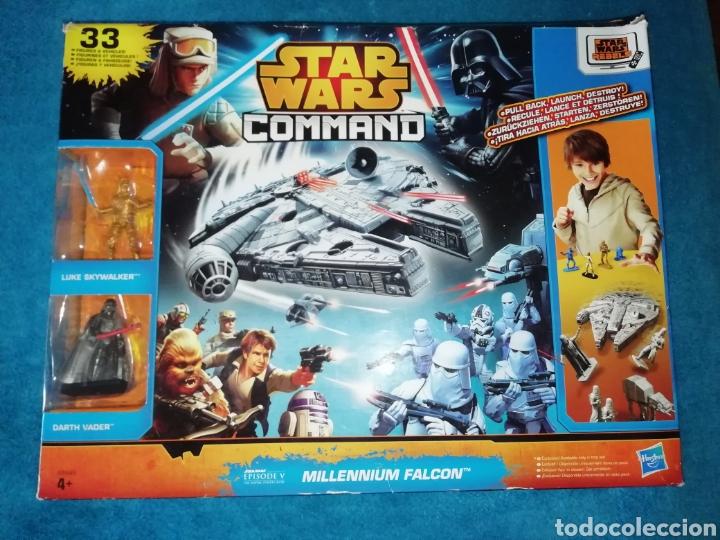 STAR WARS FIGURAS MILLENNIUM FALCON (Juguetes - Figuras de Acción - Star Wars)