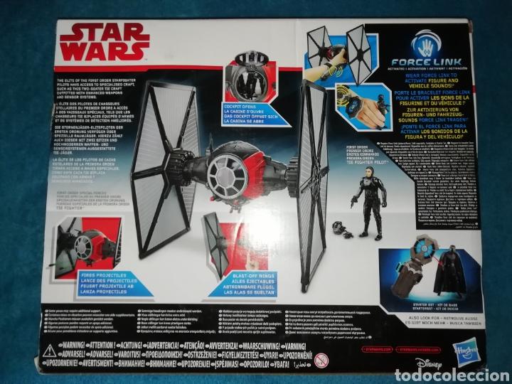 Figuras y Muñecos Star Wars: Star Wars nave/figura TIE Fighter Force Link - Foto 4 - 194900462