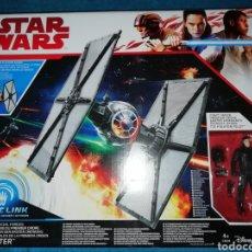Figuras y Muñecos Star Wars: STAR WARS NAVE/FIGURA TIE FIGHTER FORCE LINK. Lote 194900462
