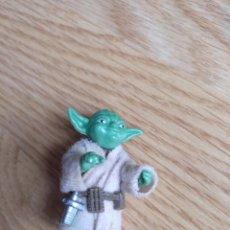 Figuras y Muñecos Star Wars: STAR WARS VINTAGE YODA APPLE GREEN PBP. Lote 194911253