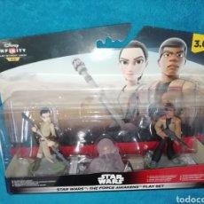 Figuras y Muñecos Star Wars: STAR WARS FIGURAS INFINITY 3.0 TFA PLAYSET. Lote 194943523