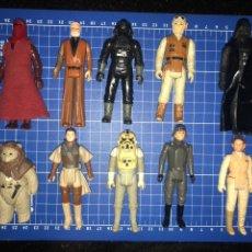 Figuras y Muñecos Star Wars: LOTE FIGURAS STAR WARS VINTAGE - LOOSE - KENNER- AÑOS 80. Lote 194973788