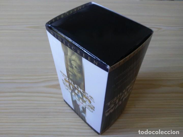 TRILOGÍA STAR WARS WIDESCREEN MASTERIZADA DIGITALMENTE THX 3 VHS (Juguetes - Figuras de Acción - Star Wars)