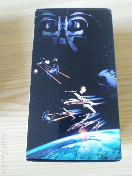 Figuras y Muñecos Star Wars: Trilogía Star Wars widescreen masterizada digitalmente thx 3 vhs - Foto 9 - 194974265