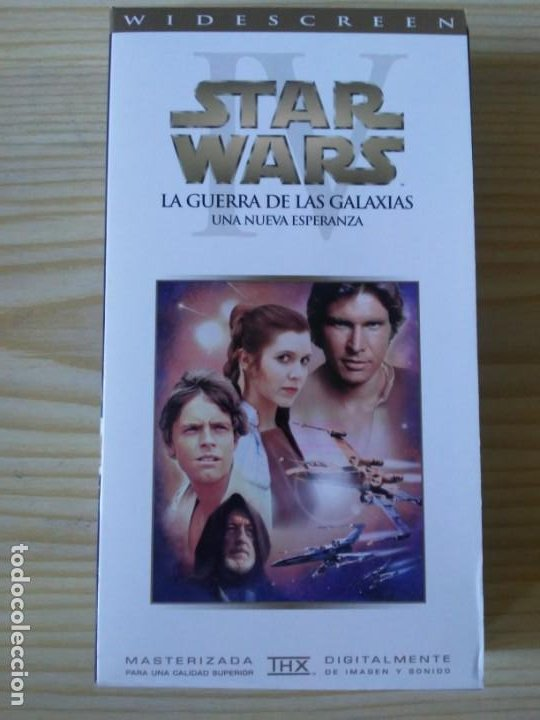 Figuras y Muñecos Star Wars: Trilogía Star Wars widescreen masterizada digitalmente thx 3 vhs - Foto 12 - 194974265