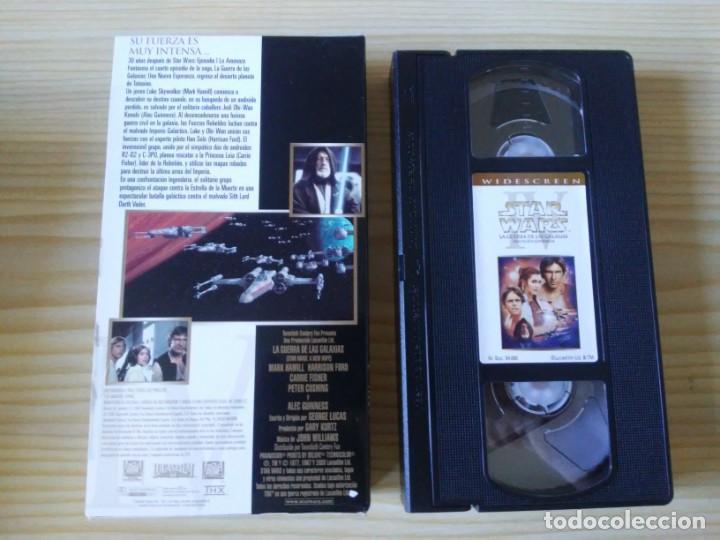 Figuras y Muñecos Star Wars: Trilogía Star Wars widescreen masterizada digitalmente thx 3 vhs - Foto 13 - 194974265