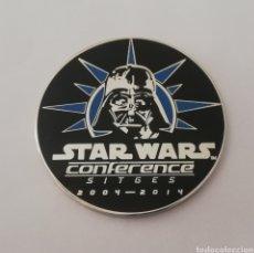 Figuras y Muñecos Star Wars: MONEDA EXCLUSIVA STAR WARS WEB STARWARSSPANISHSTUFF CENA 10° ANIVERSARIO 2014 D50 OPORTUNIDAD. Lote 195017175