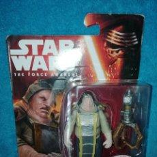 Figuras y Muñecos Star Wars: STAR WARS FIGURA UNKAR PLUTT TFA. Lote 195037041