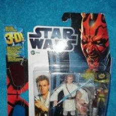 Figuras y Muñecos Star Wars: STAR WARS FIGURA OBI-WAN KENOBI #07 3D EP. I. Lote 195058288