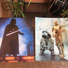 Figuras y Muñecos Star Wars: LOTE STAR WARS 2 POSTALES CLASSICOS SAN FRANCISCO. GUERRA DE LAS GALAXIAS.. Lote 195058308