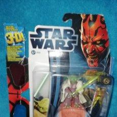 Figuras y Muñecos Star Wars: STAR WARS FIGURA YODA #12 3D EP. I. Lote 195058318