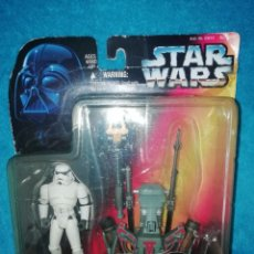 Figuras y Muñecos Star Wars: STAR WARS FIGURA DELUXE CROWD CONTROL STORMTROOPER POTF KENNER. Lote 195058376