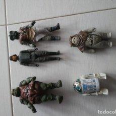 Figuras y Muñecos Star Wars: 5 ANTIGUAS FIGURAS STAR WARS AÑOS 70_80. Lote 195090641