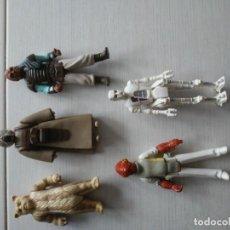 Figuras y Muñecos Star Wars: 5 FIGURAS ANTIGUAS STAR WARS AÑOS 70_80. Lote 195091232