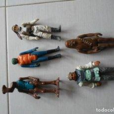 Figuras y Muñecos Star Wars: 5 ANTIGUAS FIGURAS STAR WARS VINTAGE AÑOS 70_80. Lote 195091788