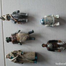 Figuras y Muñecos Star Wars: 5 ANTIGUAS FIGURAS STAR WARS VINTAGE AÑOS 70_80. Lote 195092573