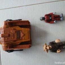 Figuras y Muñecos Star Wars: 2 ANTIGUAS FIGURAS STAR WARS MAS 1 NAVE AÑOS 70_80. Lote 195093200