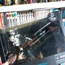 Figuras y Muñecos Star Wars: STAR WARS BLACK SERIES - SPEEDER BIKE WITH BIKER SCOUT. Lote 195100115