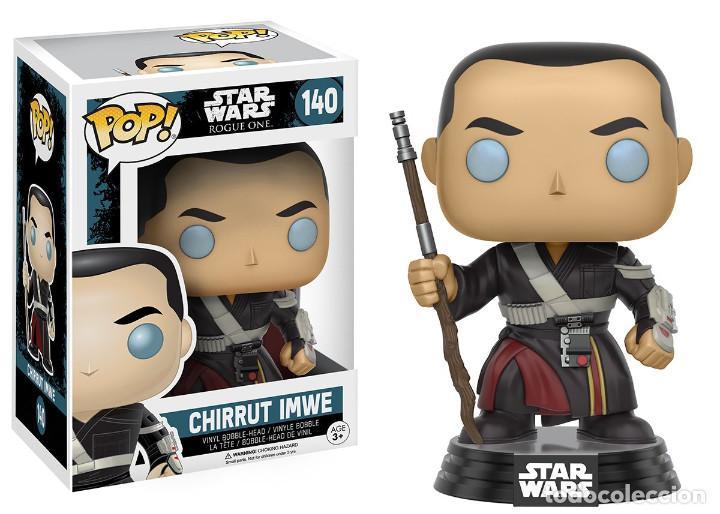 Figuras y Muñecos Star Wars: Chirrut Imwe + L3-37 + Enfys Nest NUEVOS Bobble-Head Funko Pop! 140 245 247 Star Wars Vinyl Figura - Foto 2 - 195247597