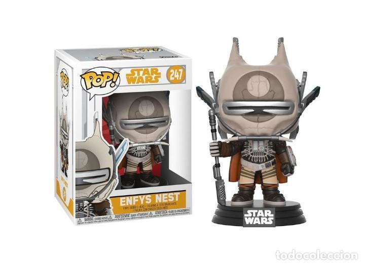 Figuras y Muñecos Star Wars: Chirrut Imwe + L3-37 + Enfys Nest NUEVOS Bobble-Head Funko Pop! 140 245 247 Star Wars Vinyl Figura - Foto 3 - 195247597