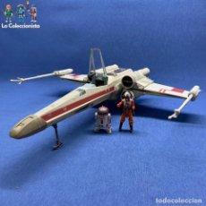 Figuras y Muñecos Star Wars: NAVE X-WING - T-65 - STAR WARS - LUCASFILM - HASBRO - AÑO 2002. Lote 195259290