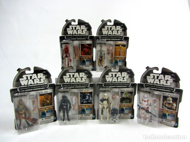 STAR WARS LEGACY COLLECTION BUILD A DROID SET 6 FIGURAS EXCLUSIVAS AMAZON (Juguetes - Figuras de Acción - Star Wars)