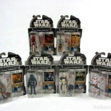 Figuras y Muñecos Star Wars: STAR WARS LEGACY COLLECTION BUILD A DROID SET 6 FIGURAS EXCLUSIVAS AMAZON. Lote 195260722