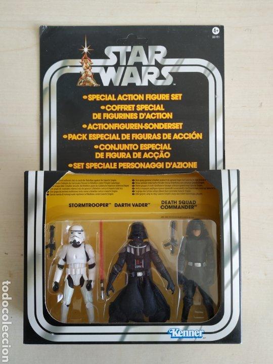 STAR WARS SPECIAL ACTION FIGURE SET BLISTER NUEVO SIN ABRIR KENNER (DESCATALOGADO) (Juguetes - Figuras de Acción - Star Wars)