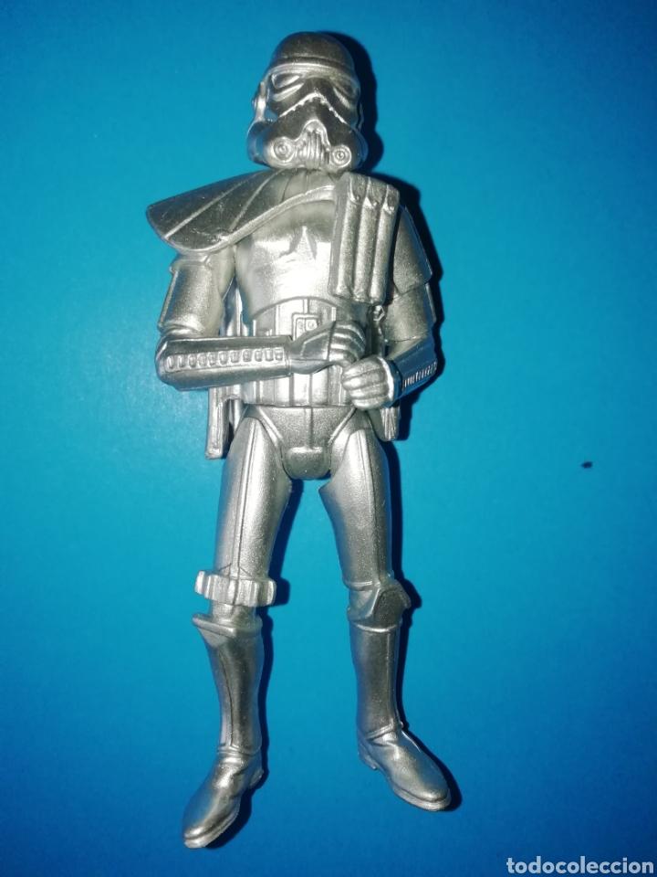 STAR WARS SANDTROOPER SILVER ANNIVERSARY (Juguetes - Figuras de Acción - Star Wars)