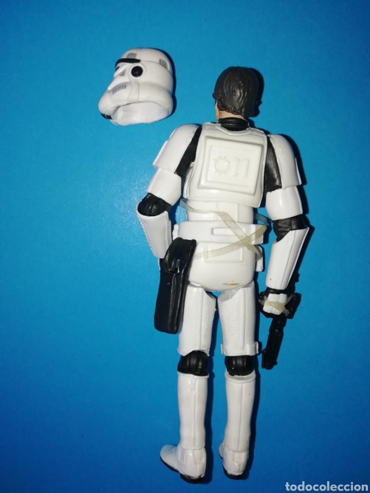 Figuras y Muñecos Star Wars: Star Wars figura Han Solo Stormtrooper casco - Foto 2 - 195331763