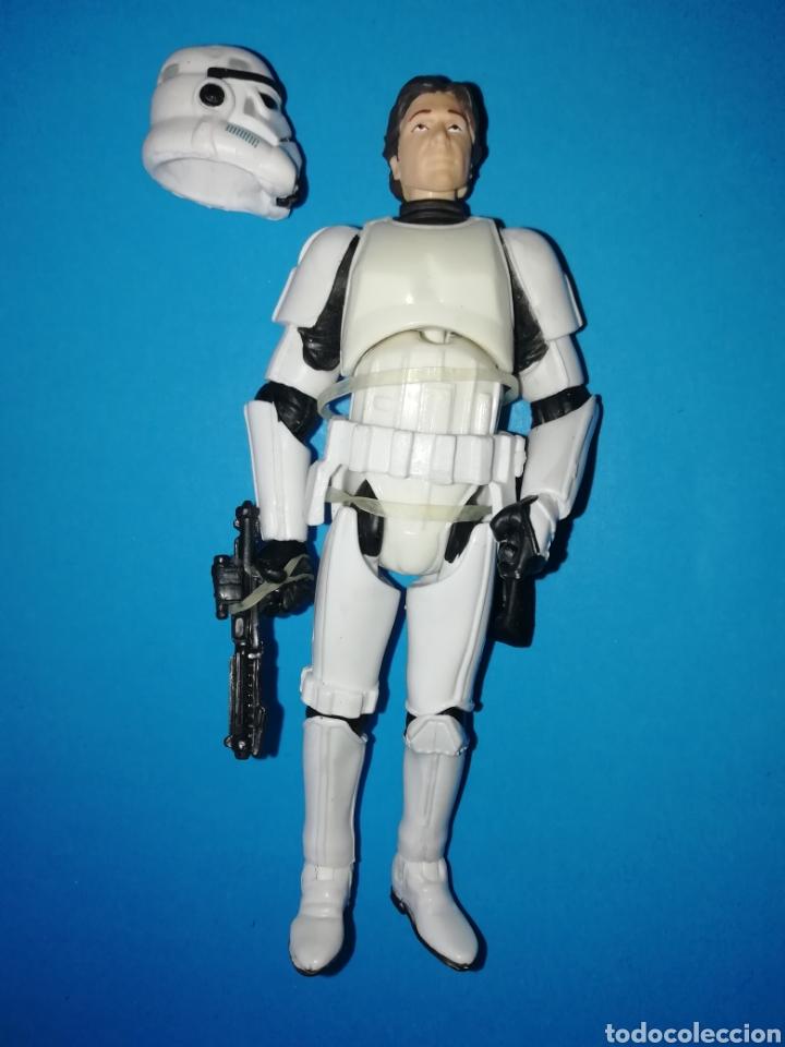 STAR WARS FIGURA HAN SOLO STORMTROOPER CASCO (Juguetes - Figuras de Acción - Star Wars)